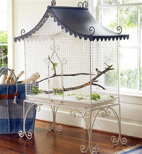 gabbia per scoiattoli fai da te gabbie per uccelli decorative tiriordino