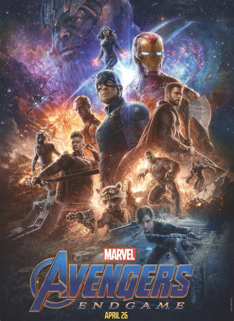 promotional artwork avengers endgame released
