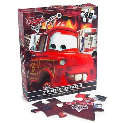 new disney pixar cars 46 floor puzzle 3 poster size - Disney Floor Puzzle Posters