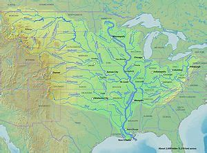 list of rivers of the united states by stem