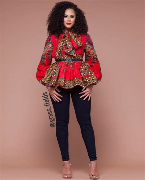 ankara tops styles ankara top fashion and style