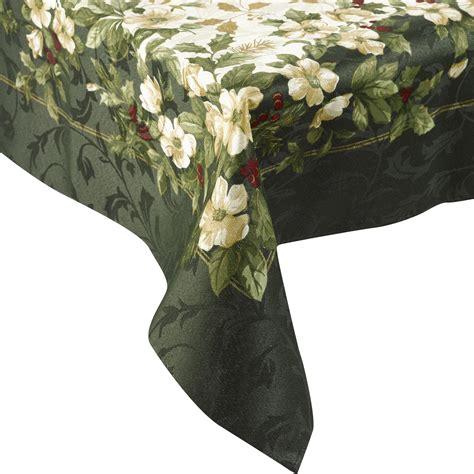 manita traditional christmas table linen festive flowers