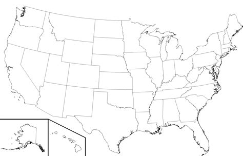 blank map of us states and canadian provinces file usa state boundaries lower48 2 png wikimedia commons