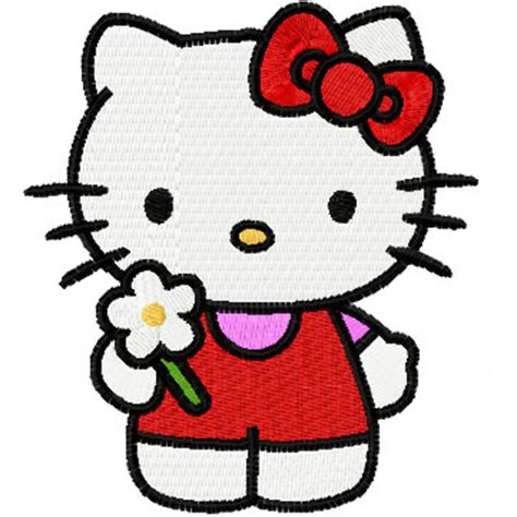 embroidery design hello kitty hello kitty good day embroidery design for fashion clothes