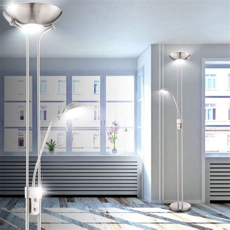 led wohnzimmer le led deckenfluter standleuchte wohnzimmer lesele