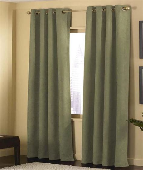 sage curtains drapes 2 panels sage grommet micro suede curtain window covering