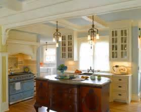 Yellow Buffet Cabinet Farmhouse Kitchen Beautiful Homes Design