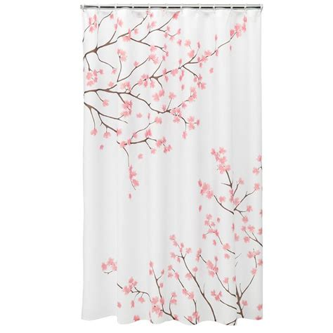 cherry blossom curtain 1000 ideas about pink shower curtains on pinterest