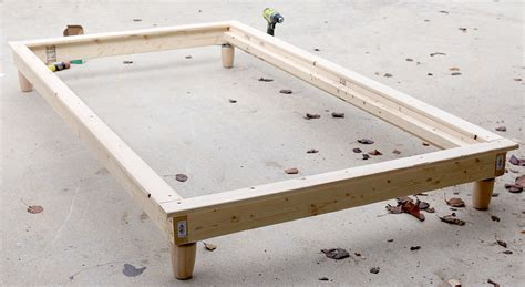 how to build a bed diy twin platform bed