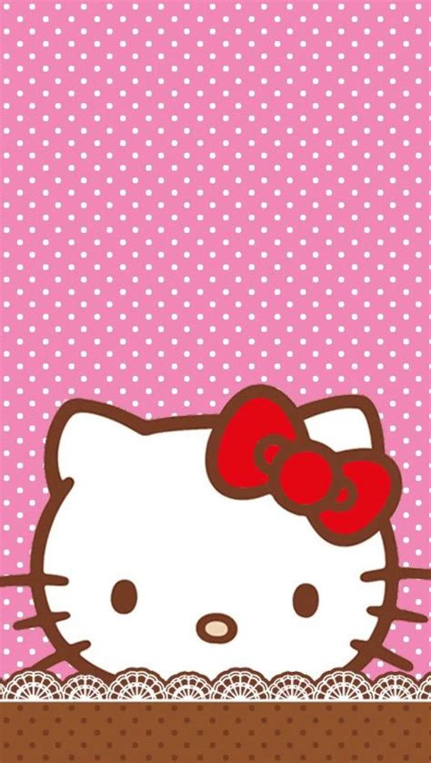 wallpaper of hello kitty for phones hello kitty wallpaper for iphone 72 images