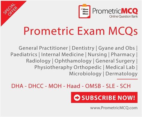 prometric mcqs review questions for dha haad moh sle saudi omsb