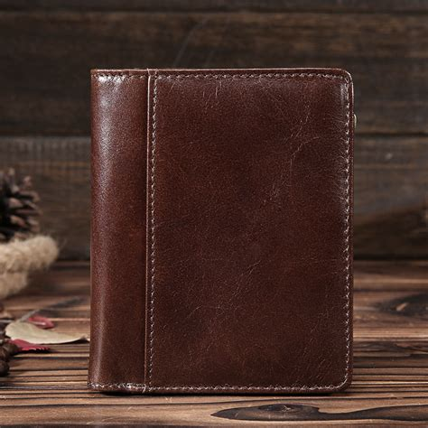 Is Cowhide Leather Real Leather - vintage design genuine cowhide leather wallet