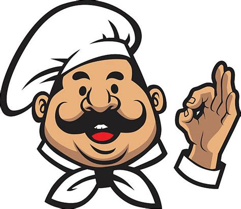 clipart cuoco royalty free italian chef clip vector images