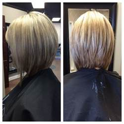 medium bob hairstyles front back inverted bob pictures show front and back view