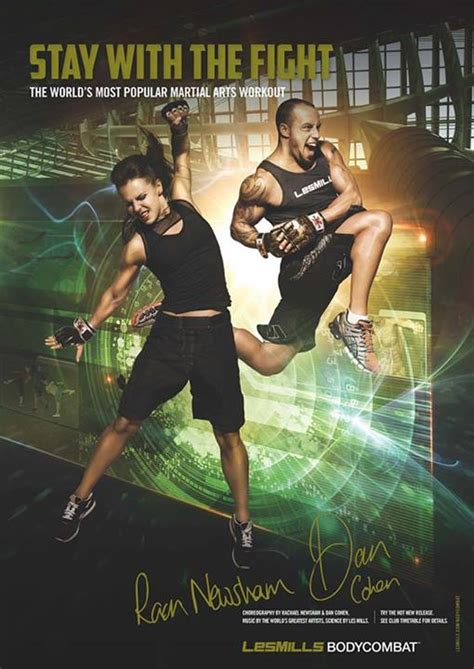 Boxy Comby new posters for les mills combat and balance