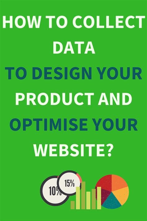 how to collect data to design your product and optimise