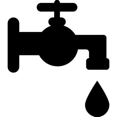 Sink And Faucet Set Bathroom Faucet Tool Icons Free Download