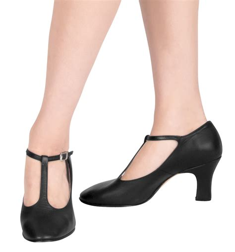 quot chord quot t character shoes with 3 quot heel character