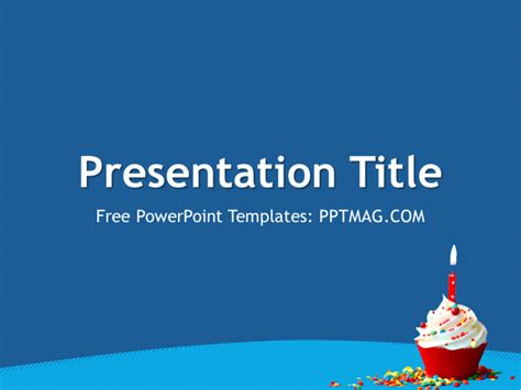 powerpoint template birthday free birthday powerpoint template pptmag
