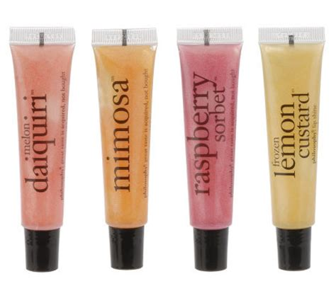 Lipgloss Pac philosophy 4 pack lip gloss collection page 1 qvc