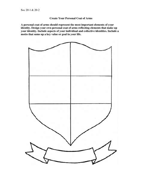 how to make your own template make your own coat of arms template timetravellers typed