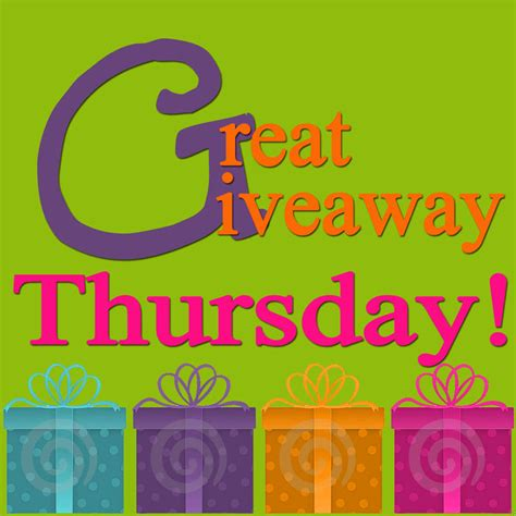 Giveaway List - list and promote giveaways at great thursday giveaway linky