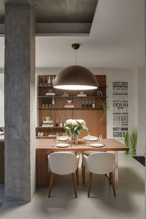 industrial style kitchen lighting industrial chic apartment in odessa embraces cozy space
