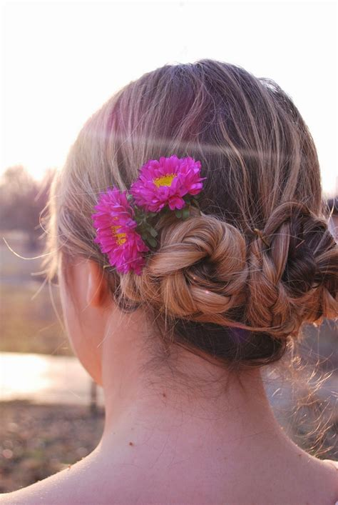 the triple braided bun with flower crown hairstyle design page 4 of big braided bun triple braid bun image welcome to slamabit