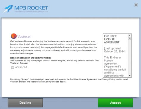 how to uninstall mp3 rocket how to remove vosteran lavasoft