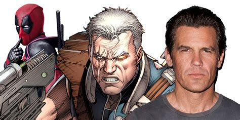 who plays cable in deadpool 2 josh brolin to play cable in deadpool 2 collector