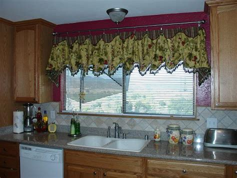 curtain valances for kitchen 8 steps how to make kitchen curtains and valances steps by step guide with images tutorial