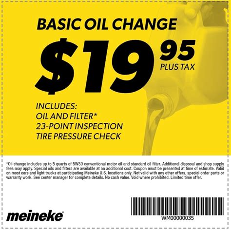 meineke change price midas coupons