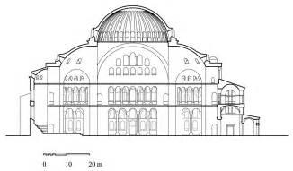 Floor Plan Designer Software hagia sophia cross section of hagia sophia archnet