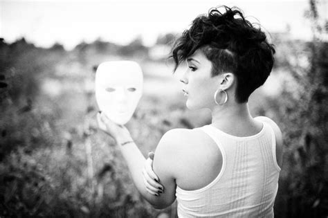 brilliant short curly hairstyles with shaved sides side shaved brunette mohawk my style pinterest