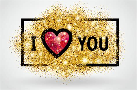 banner design love valentines i love you banners vector 04 vector banner