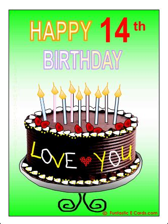 Happy 14th Birthday Quotes Happy 14th Birthday Son Quotes Quotesgram