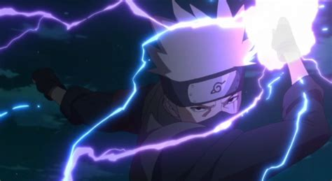 boruto lightning boruto kakashi unveils new deadly electrifying jutsu