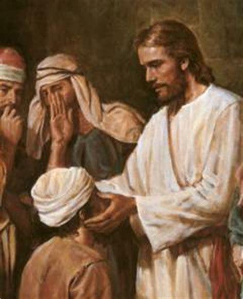 imagenes de jesus sanando un ciego curando tu fe encontraste a la fe curandera servicio