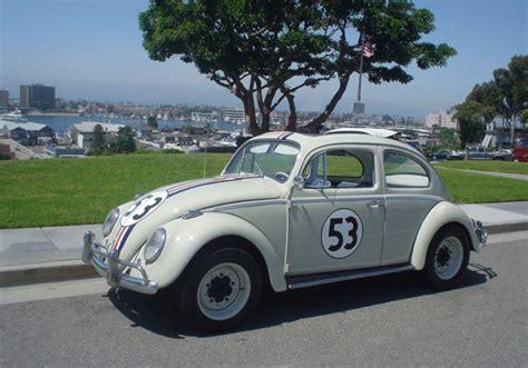 volkswagen beetle classic herbie 1963 vw ragtop sunroof bug herbie the love bug for sale