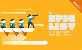 What Team Is On An Epic List Of Great Team Building When I Work