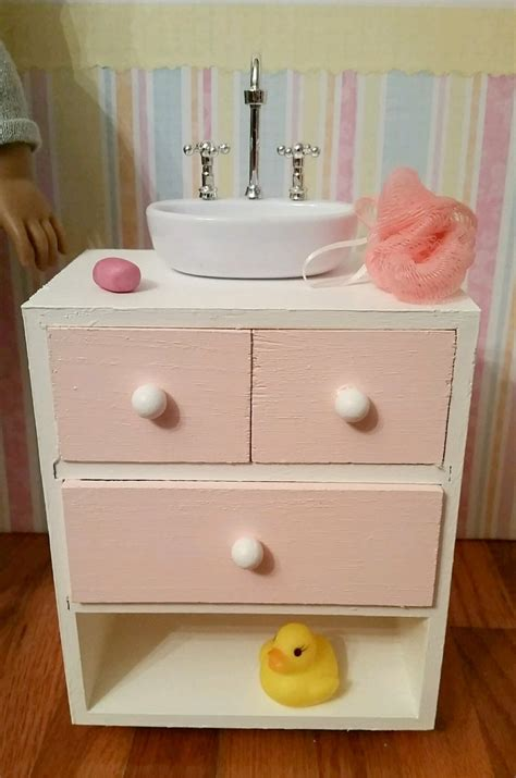 18 inch doll bathroom vanity 18 inch doll bathroom sink vanity cabinet sink with