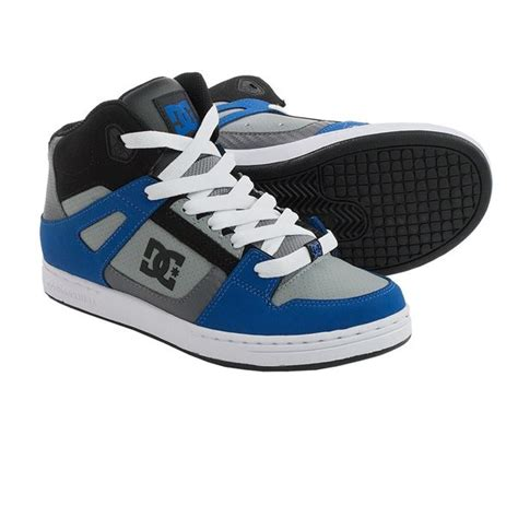dc shoes boys dc shoes rebound skate shoes for boys save 33