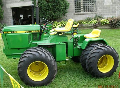 Articulated Garden Tractor by Does Anyone Any Info On This Articulated Deere