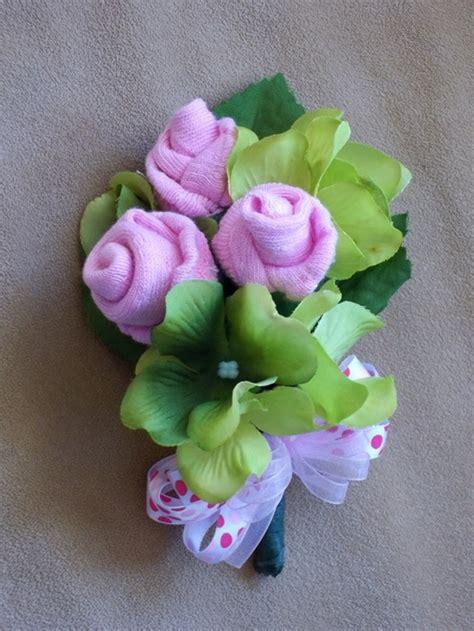 diy sock roses wonderful diy baby sock bouquet