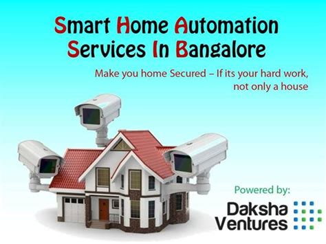 smart home automation bangalore daksha ventures