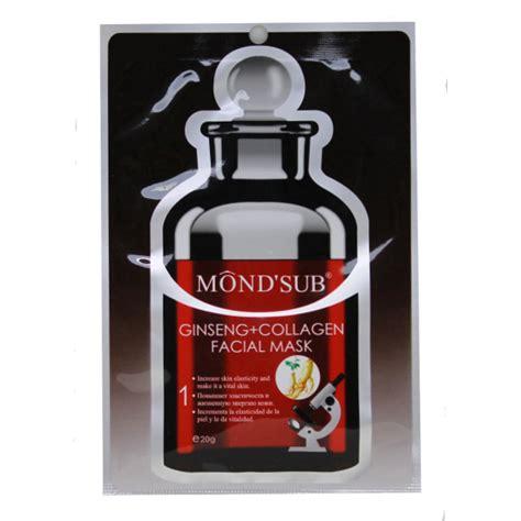 Sale Ori The Shop Mineral Ginseng Mask Masker ginseng collagen mask increase skin elasticity