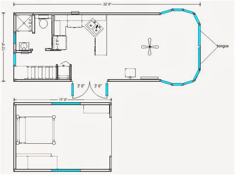 tiny portable home plans rich daniel s tillamook triple bay tiny house