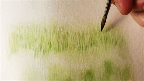 watercolor grass tutorial how to paint grass in watercolor craftsy tutorial