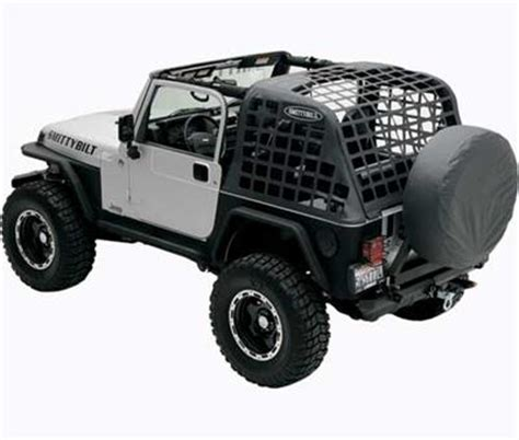 Jeep Cargo Nets All Things Jeep Cargo Net Restraint System For Jeep