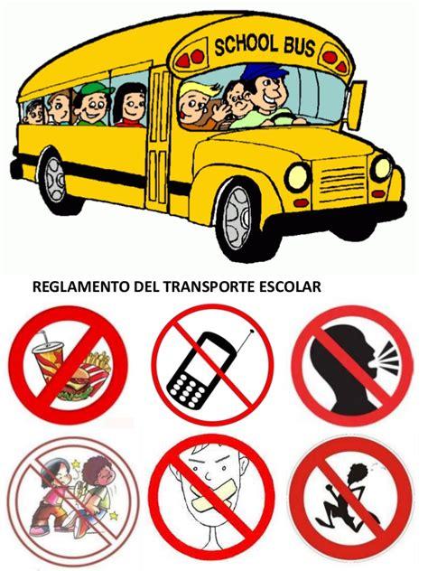 imagenes transporte escolar reglamento de transporte escolar im 225 genes